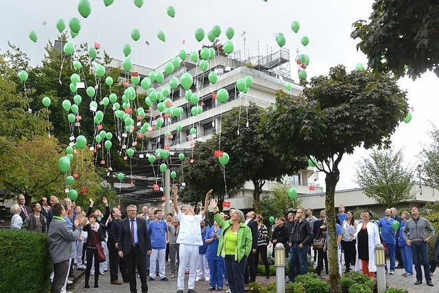 Protest gegen Klinikreform