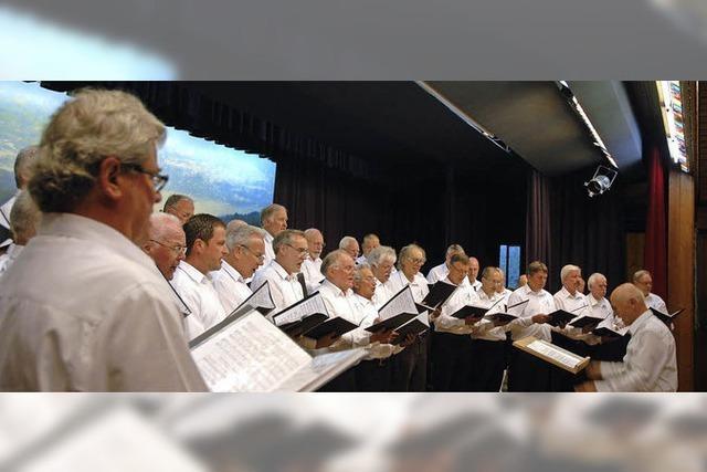 Konzert des Liederkranz Eintracht in St. Blasien-Menzenschwand