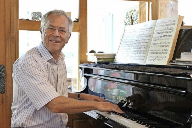Musik ist Georges Auberts Berufung und große Liebe