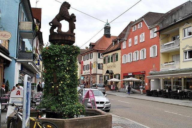 Oberkirch bekommt eine Fußgängerzone