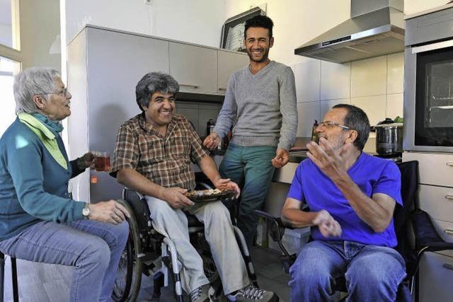 Der Arbeitskreis für Menschen mit und ohne Behinderung hat eine Wohnung in der
