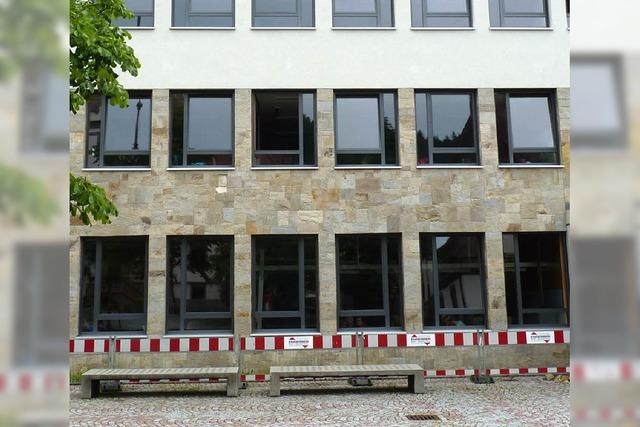 Nur die Fassade bereitet Probleme