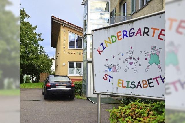 Handlungsbedarf beim Kindergarten