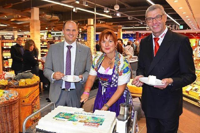 Rewe-Eröffnung Waldkirch:
