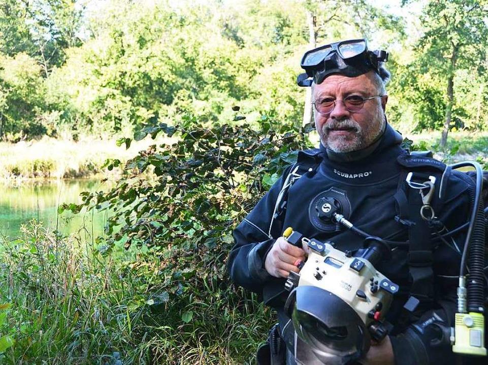 Unterwasserfotograf und Naturschützer Paul Munzinger (64)  | Foto: Martin Herceg