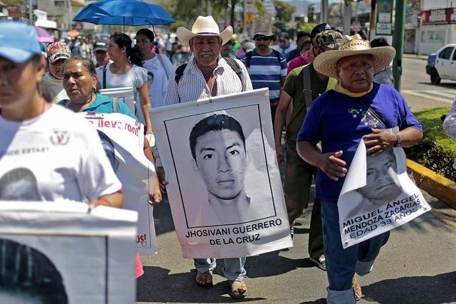 Verschwunden, nicht vergessen - Suche nach 43 Studenten dauert an