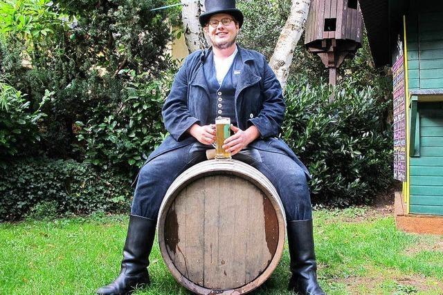 Seltenheitswert: Ein Bierbrauer auf der Walz