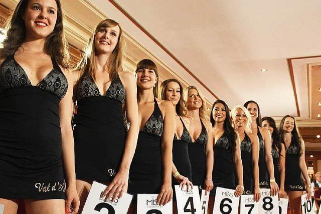 Kür der Miss Schwarzwald: Junge Mädchen, große Pläne, alte Herren
