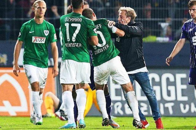 Eklat in Osnabrück: Verletzter Profi attackiert Gegenspieler