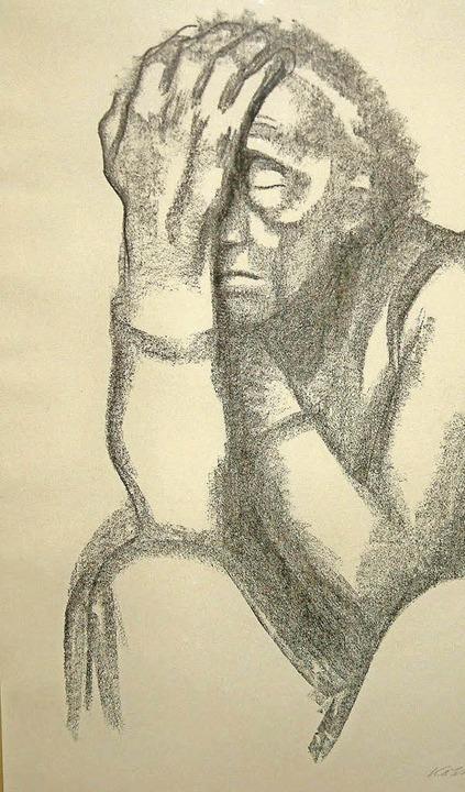 Auch grafische Arbeiten zeigt die Kollwitz-Ausstellung.  | Foto: R. Frey
