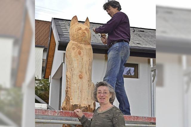 Baumrest wird zur Kunst