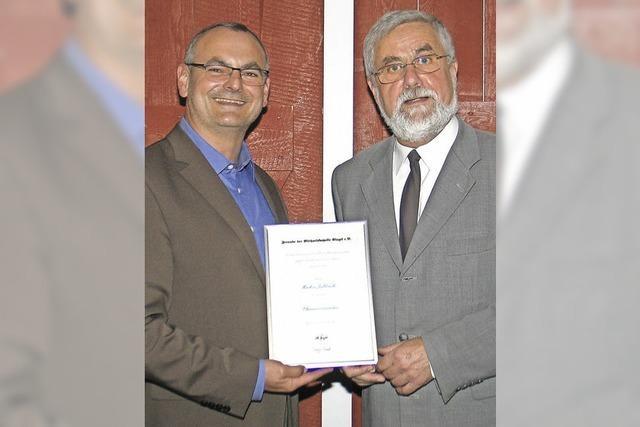 Ehrenvorsitz für Jablonski