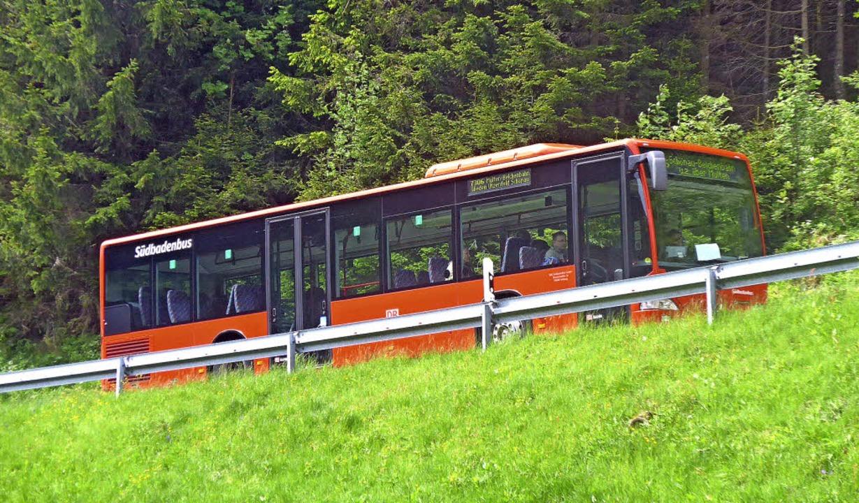 Der Nahverkehrsplan legt Standards fes...ünftigen Busverkehr im Kreis Lörrach.   | Foto: Gramespacher
