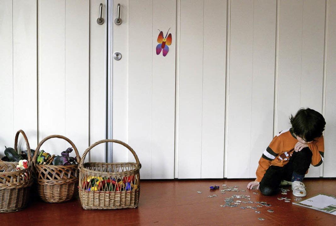 Kinder mit Autismus ziehen sich oft zu...uch weil sie sich unverstanden fühlen.    Foto: dpa/zvg