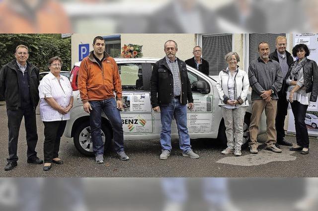 Werbung durch Sponsoren ermöglicht Autokauf