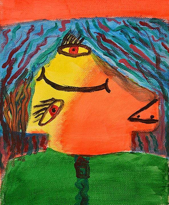Kinderbild aus der Ausstellung    Foto: Barbara Ruda