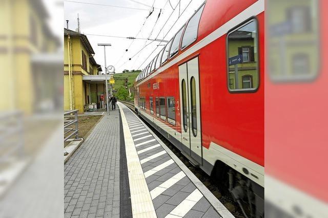 Mehr Züge im Nahverkehr