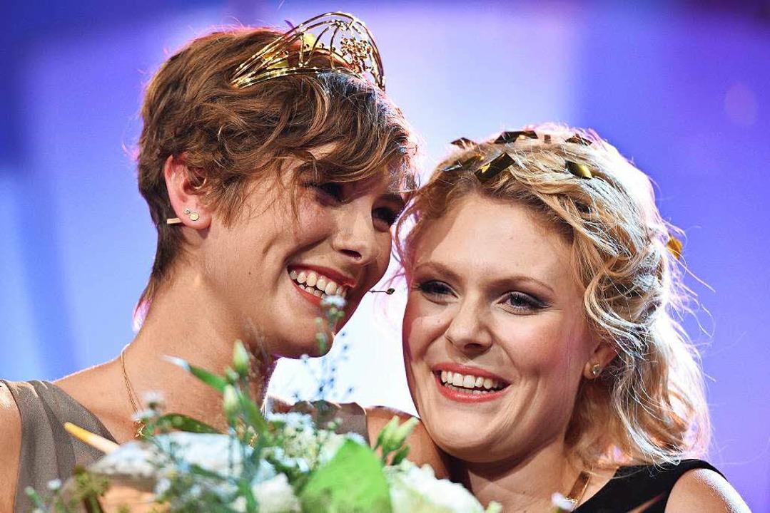 Josefine Schlumberger (l.)  | Foto: dpa