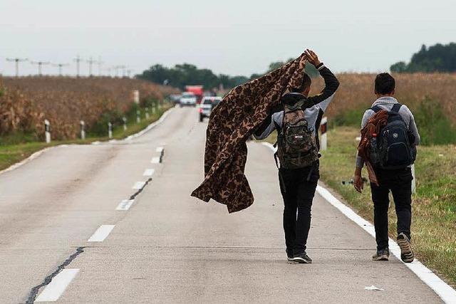 Kroatien und Serbien streiten über Flüchtlingspolitik