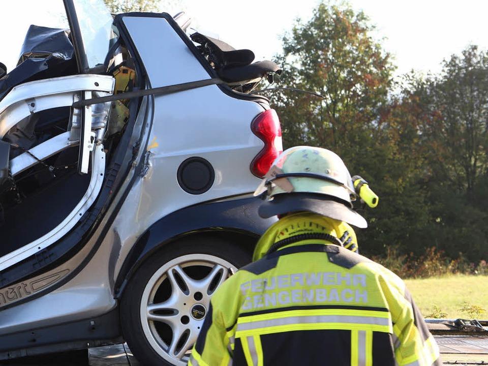23-Jähriger stirbt bei Unfall auf der B33 bei Gengenbach  | Foto: Christoph Breithaupt
