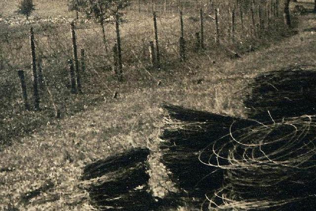 1942: Kilometerweise Stacheldraht im Dreiländereck