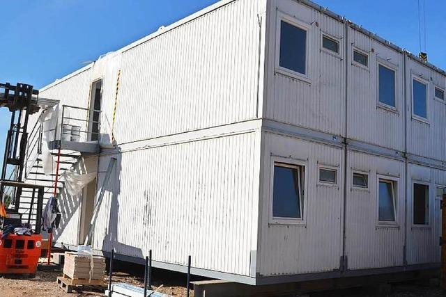 Das Geschäft mit Wohncontainern brummt