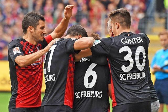 SC Freiburg schlägt Frankfurt 2:0 und ist Tabellenführer