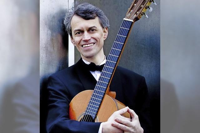 Gitarrist Siegbert Remberger gibt Solokonzert in Bad Säckingen