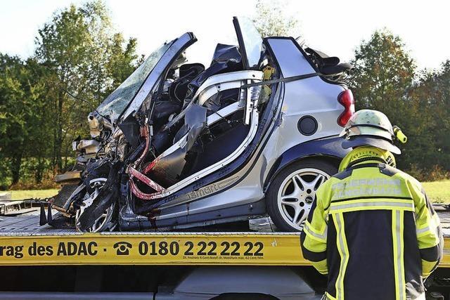Pkw-Fahrer tödlich verunglückt