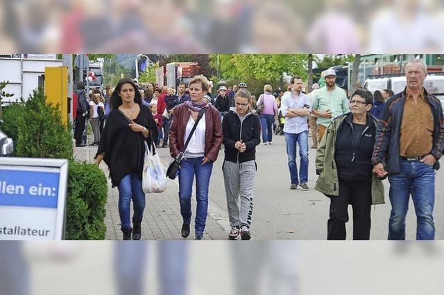 Hunderte pilgern in die Schildgasse