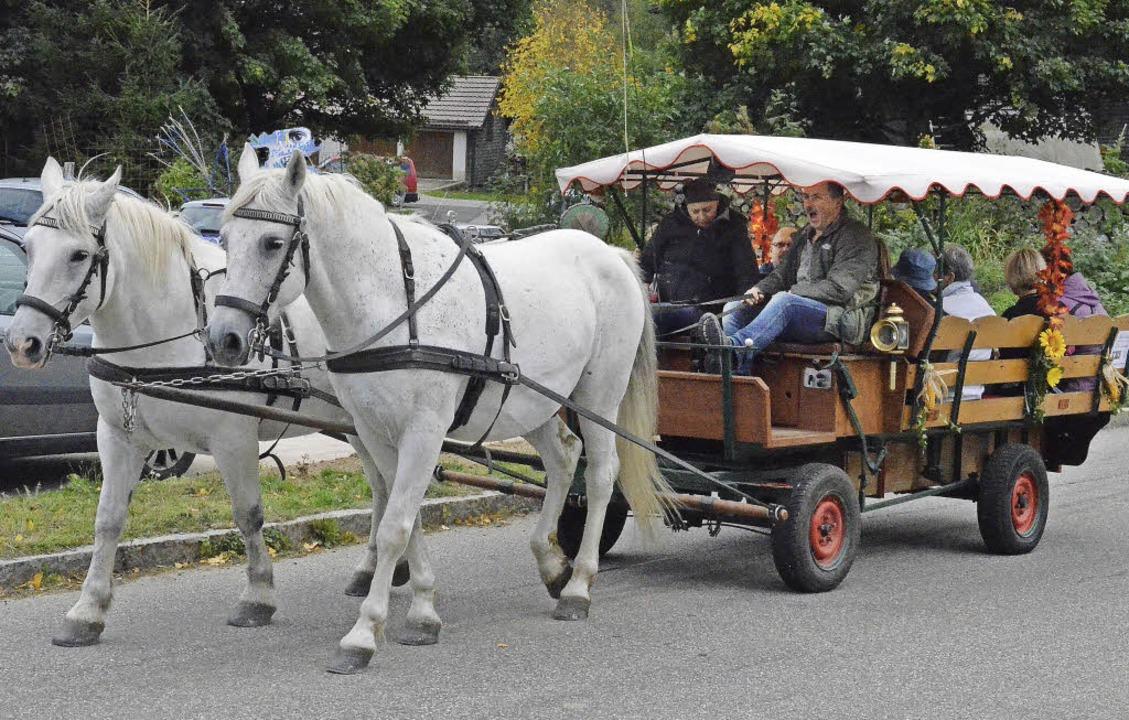 Mit einer Kutsche konnte man die lange...iet Weierle in Bernau auch Bewältigen.  | Foto: Sebastian Barthmes