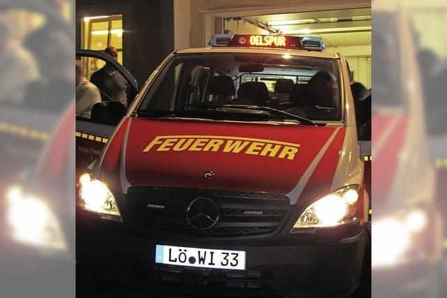 Freude bei der Feuerwehr