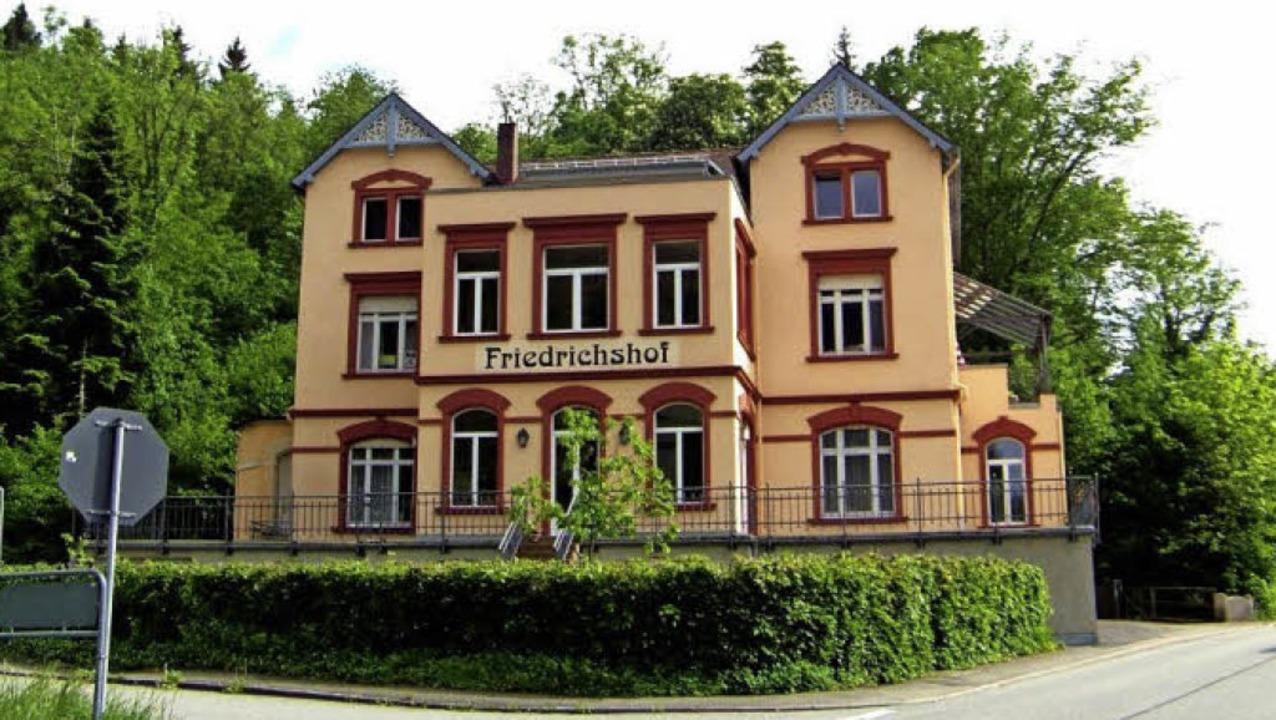 Nach ansprechender Renovierung erweist...der Komplex bis heute als vorzeigbar.   | Foto: Archiv Hans Sigmund