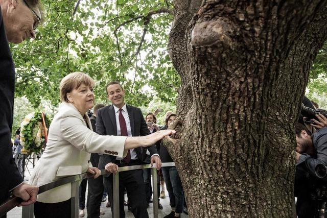 Merkel versucht, vor der UNO für ihre Flüchtlingspolitik zu werben