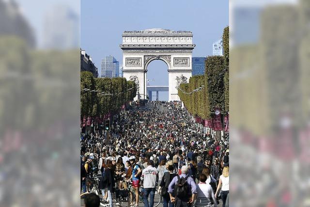 Ein fast autofreier Tag in Paris