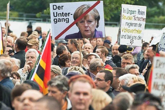 Maulwurf bei der Dresdner Polizei informiert Pegida