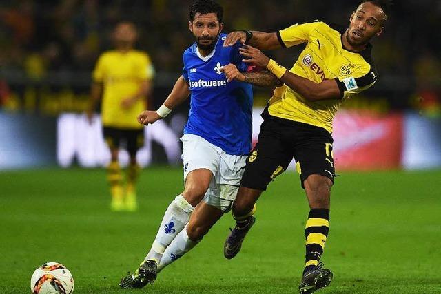 Darmstadt ringt Dortmund ein 2:2 ab