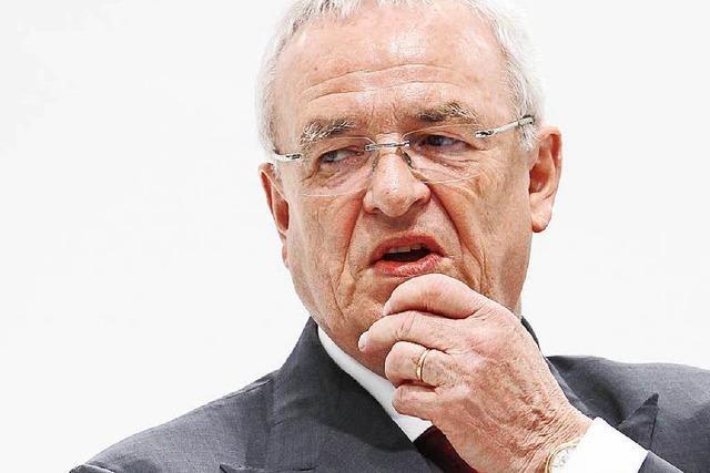 Staatsanwaltschaft ermittelt gegen Ex-VW-Chef Winterkorn