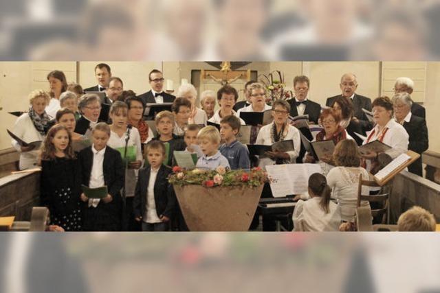 Konzert mit musikalischen Gästen