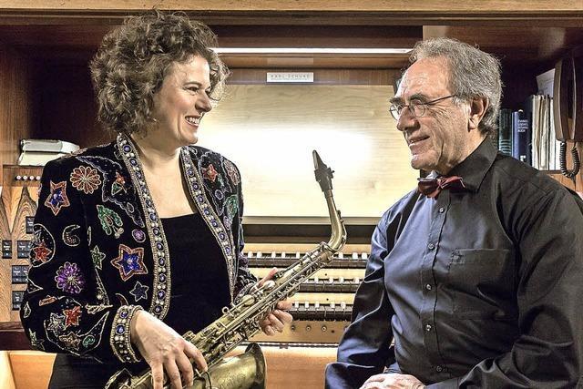 Claudia Tesorino und Armin Thalheim in Kirchzarten
