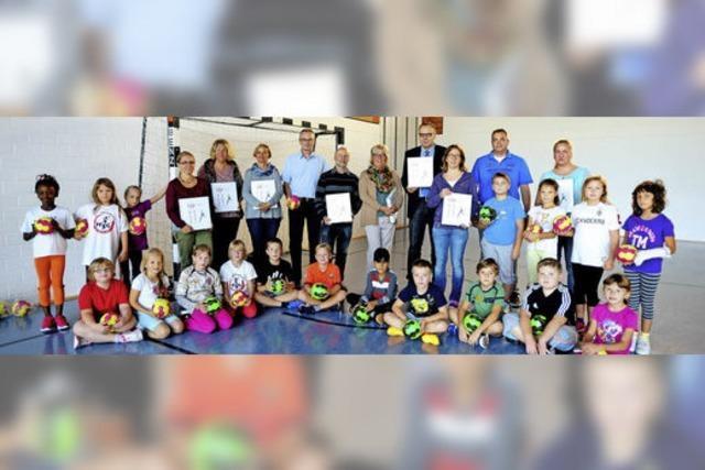 Initiative für Handball im Schulsport