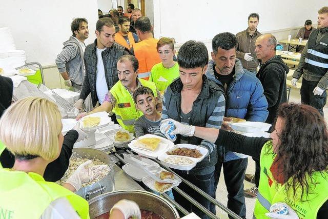 Essen für 1600 Menschen