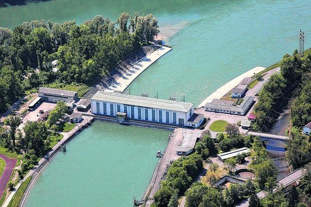 43-Millionen-Investition: Rheinkraftwerk Albbruck-Dogern wird saniert