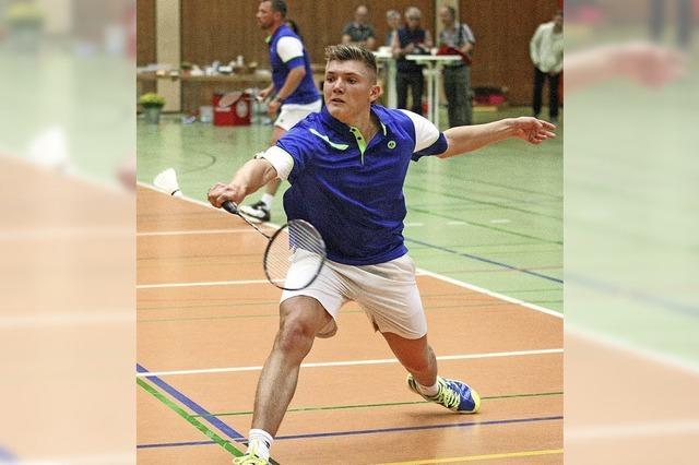 Baden-Derby, Krimi und Werbung für Badminton