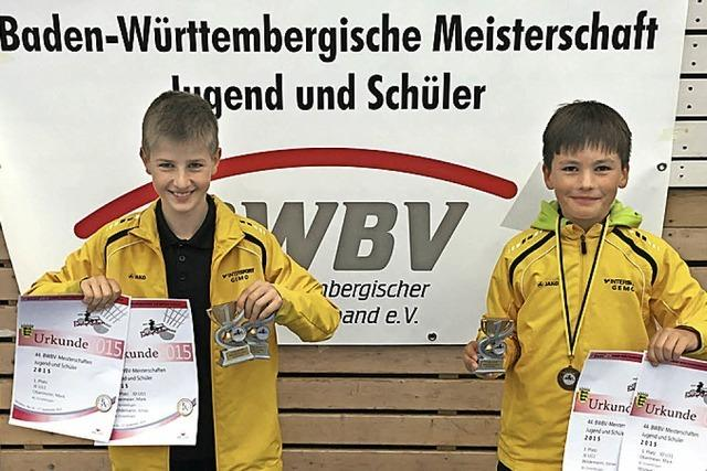 Badminton-Jugend holt zwei Landestitel