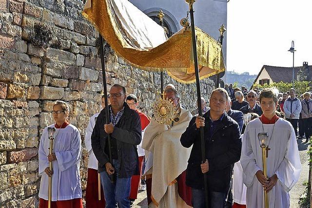 Patrozinium in Istein wird Familienfest