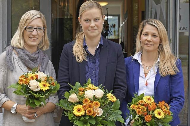 Ein neues Trio für die Schule in Sölden