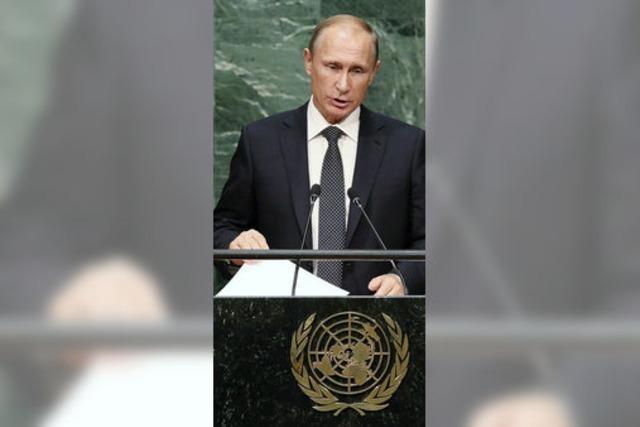 Russland und USA ringen um Position zu Syrien