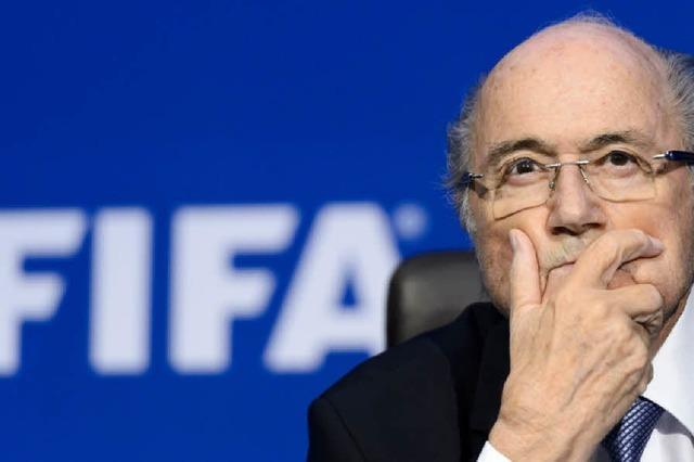 Joseph Blatter will Fifa-Präsident bleiben