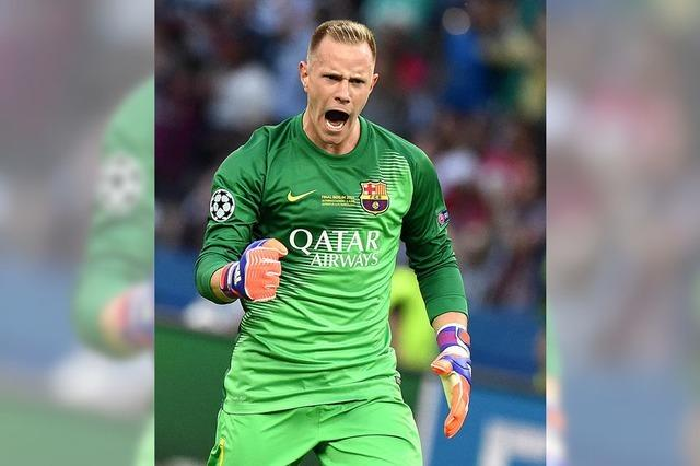 Barcelona gegen Bayer - und ter Stegen gegen Leno